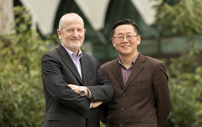 Professor Roger Daly and Dr Jiangning Song.