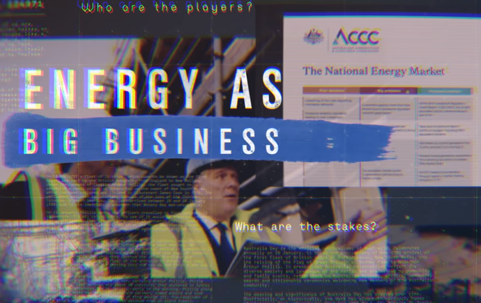 Energy as big business