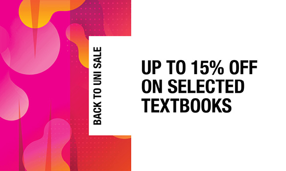 Save up to 15% on selected textbooks