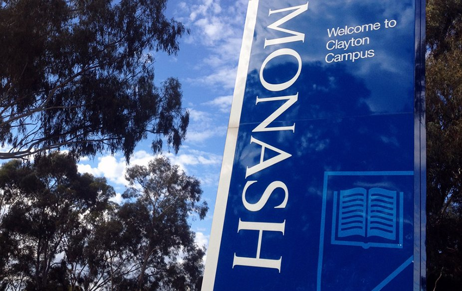 monash-university-clayton-campus-signage