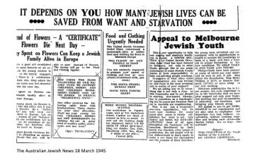 The Australian Jewish News 18 March 1945