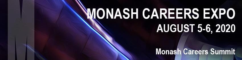 Monash Careers Expo 2020 5-6 August