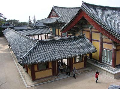 A Buddhist Temple in Korea.