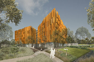 Monash Peninsula new residential building