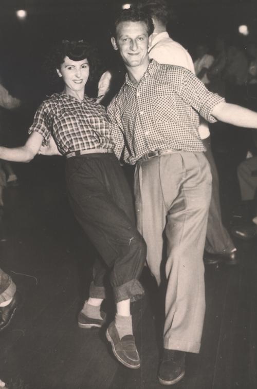The Buchenwald Boys danced. Melbourne Boy Gabriel R.