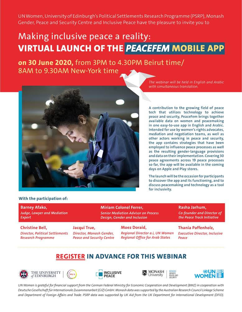 Flyer for app launch