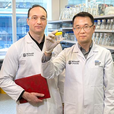 Dr Tony Velkov and Professor Jian Li