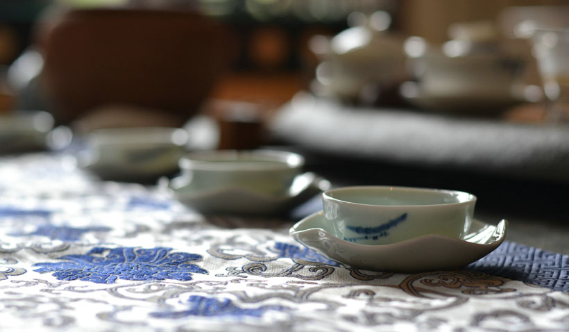 Tea and culture in Shanghai, China