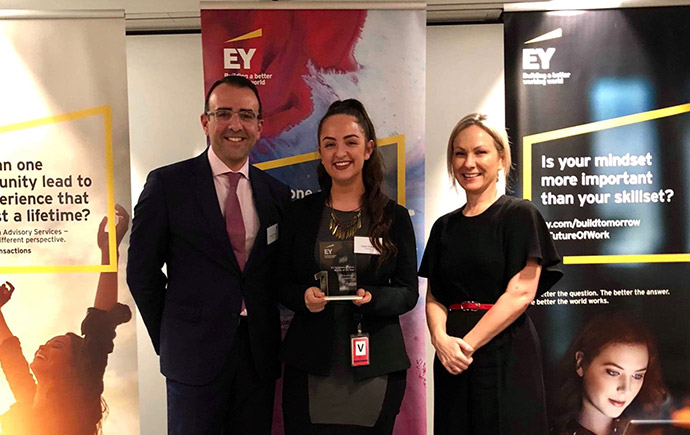 EY Oceania Corporate Finance Woman of the Year Competition