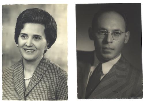 Mina and Leo Fink