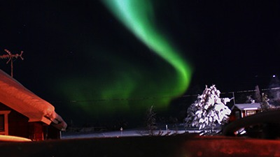 Aurora Borealis in the Arctic Circle
