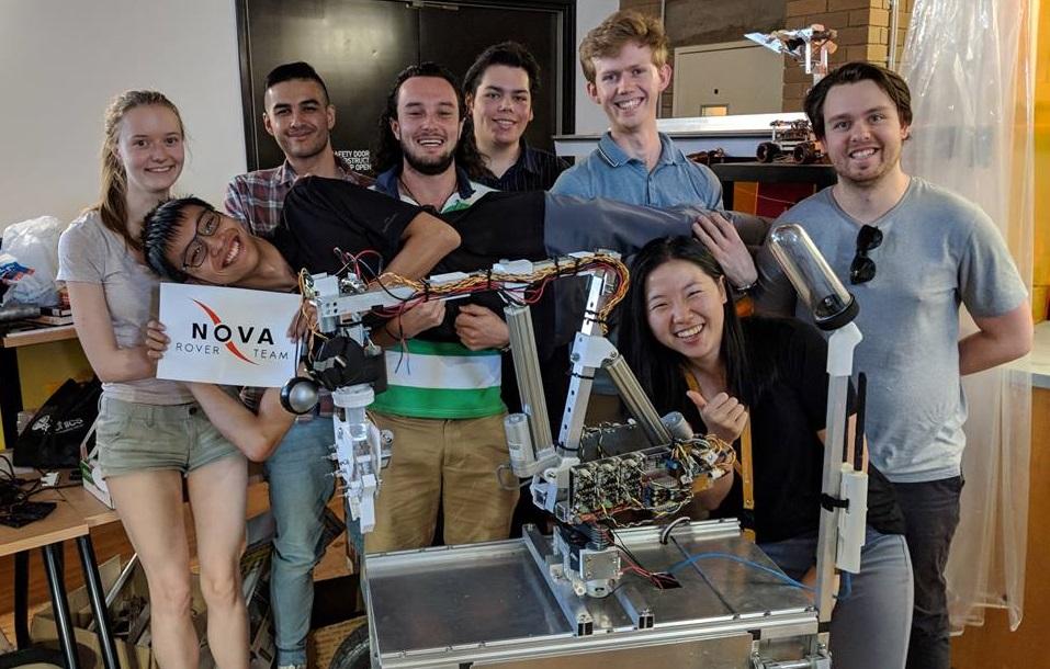 Nova Rover team