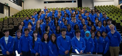 Some of the 1000 Student Ambassadors will be on site throughout the weekend to help visitors find their way around.