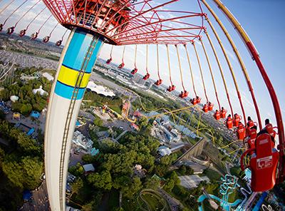 Canada's Wonderland theme park, Toronto. Image by WomEOS.