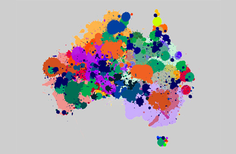 Map Of Australia Images.Population Maps Mapping Australia S Population