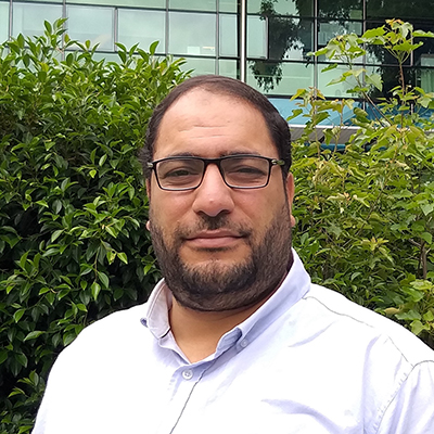 Dr Wael Awad, first author on the study.