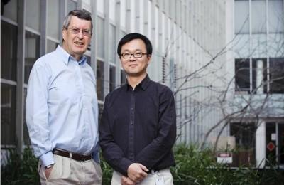 Professor Nation and Associate Professor Li
