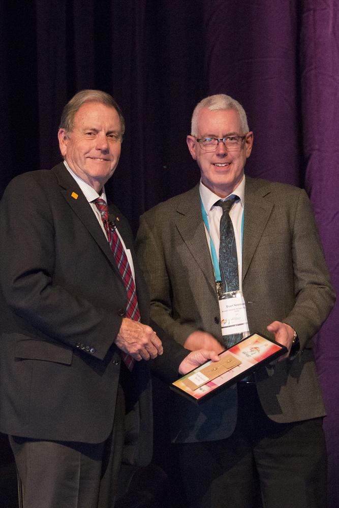 Stuart Newstead Peter Vulcan Award