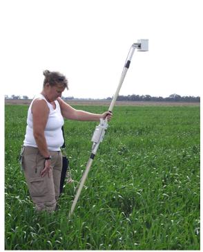CROPSCAN multispectral radiometers