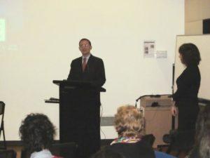 Italian Consul gives speech