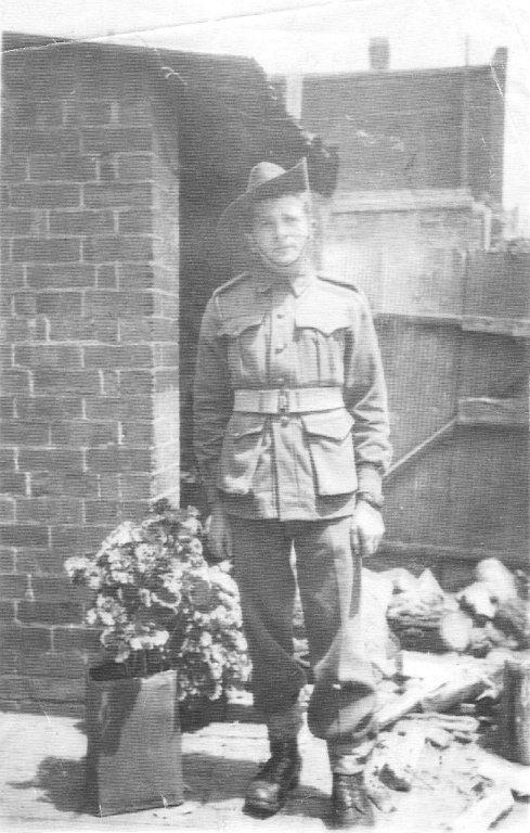 Private Samuel Bennett 1942
