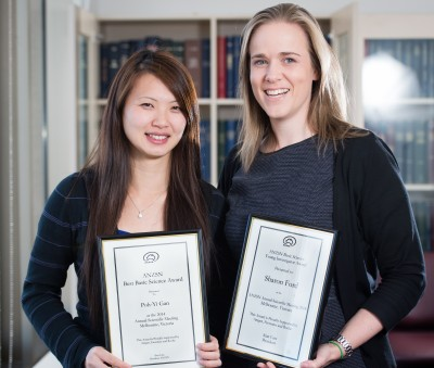 Dr Poh-Yi Gan (L) and Dr Sharon Ford (R)