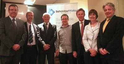 (L_R) John Merritt, EPA; Dave Griggs, MSI; Michael Daddo, The Shannon Company; Liam Smith; John Thwaites; Edwina Cornish, Monash University; Bill Shannon, The Shannon Company